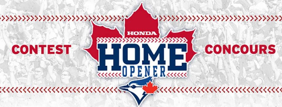 Blue Jays Honda Contest Win Tickets To The 2017 Home