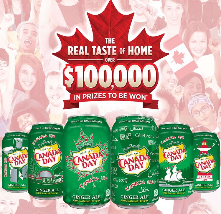 Canada Dry Real Taste Of Home 2017 Contest Enter Your Pin