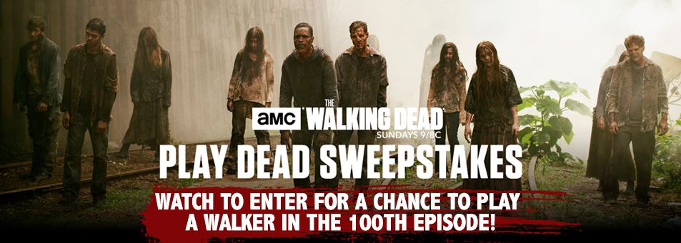 walking dead amc sweepstakes amc walking dead contest win a trip and a chance to play 3172