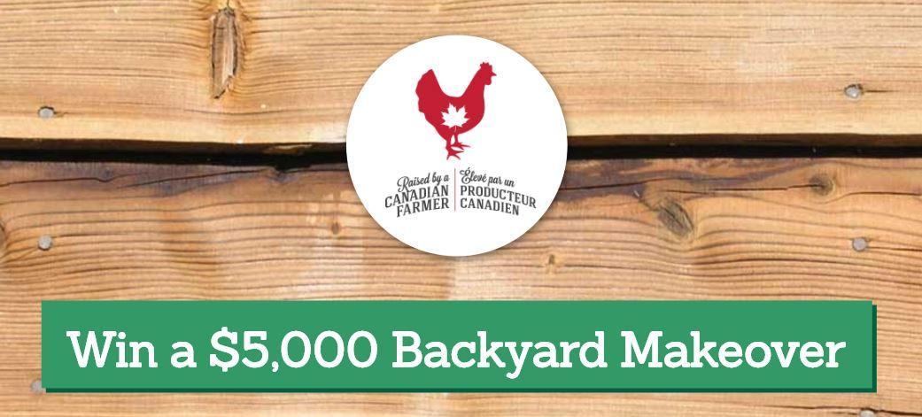 - Canadian Farmer Contest: Win A $5,000 Backyard Makeover