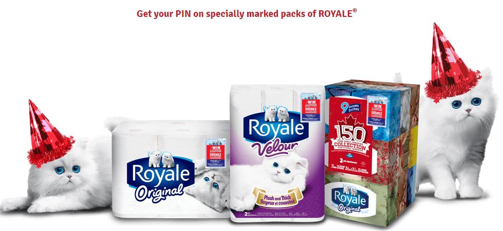 Royale Canada 2017 Contest Enter Your PIN And Win At Royalepromotionsca