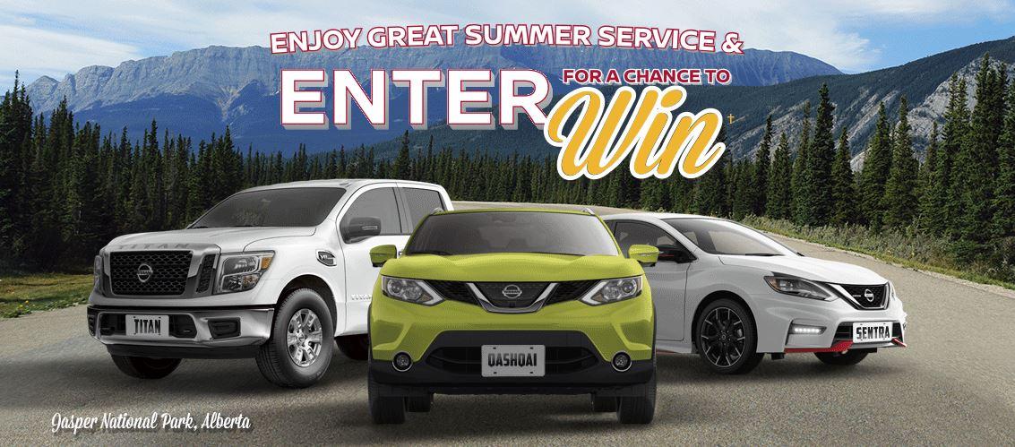 Winners nissan summer sweepstakes