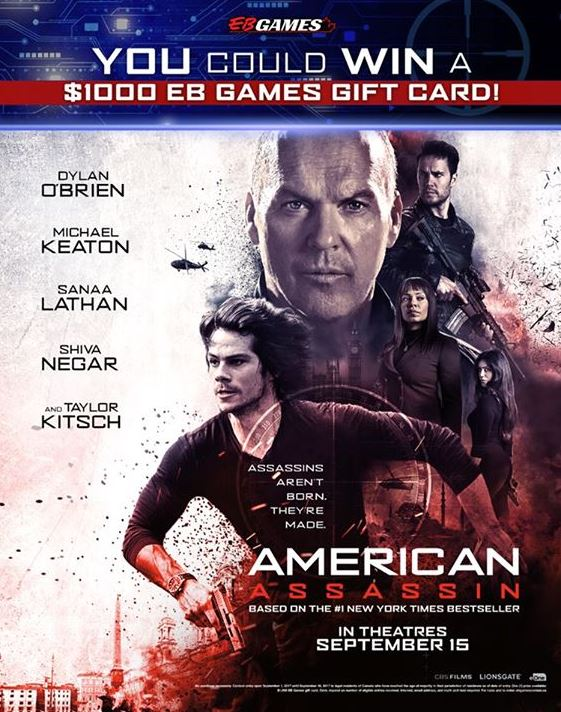 Eb Games American Assassin Contest Win A 1000 Gift Card