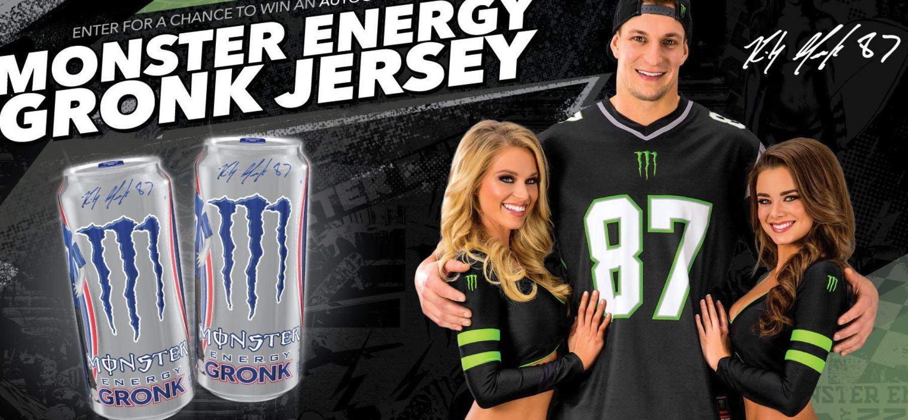 Image result for Rob Gronkowski Monster Energy