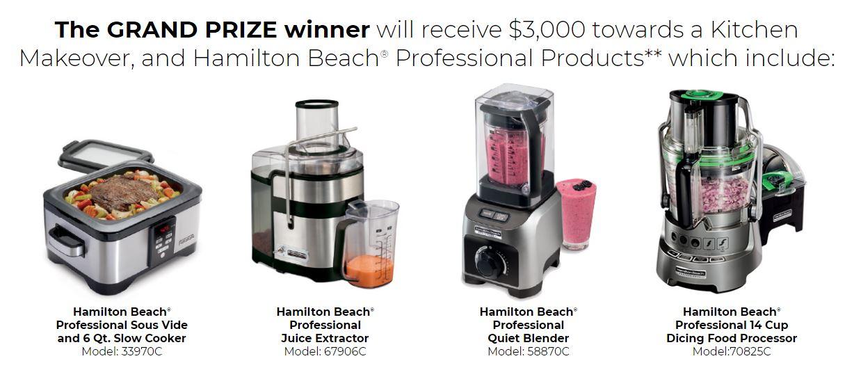 Cityline Hamilton Beach Contest. Win A Kitchen Makeover At  Cityline.ca/hamiltonbeach