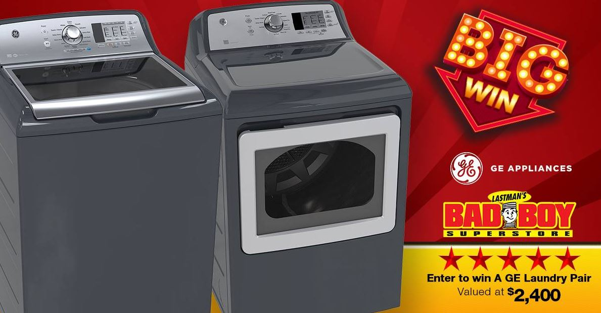 Win A Ge Laundry Pair Worth 2400 In The New Lastman S Bad