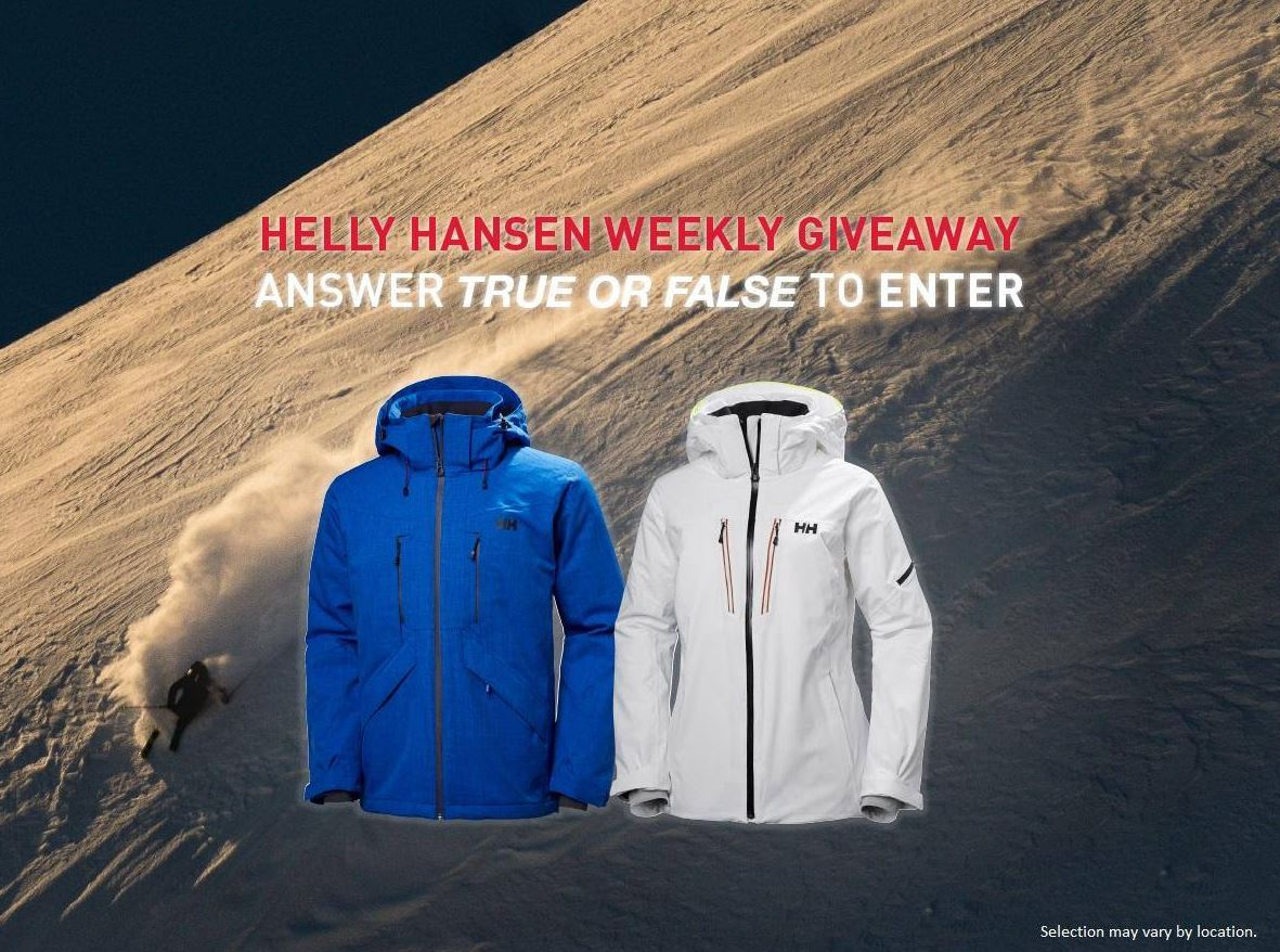 watch 58206 6c217 Sport Check Helly Hansen Choose Like a Pro Contest. Win ...