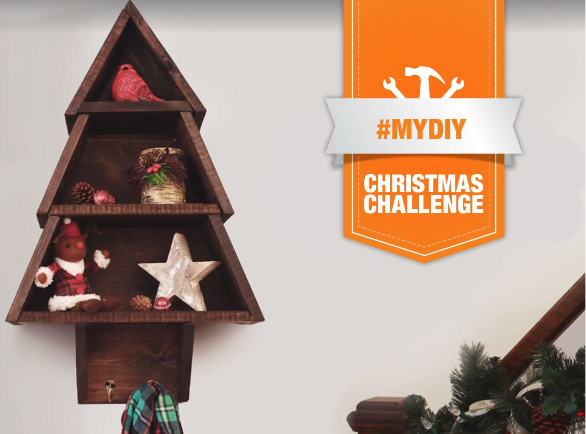 The Home Depot Canada MyDIY Challenge. Win a $100 gift card
