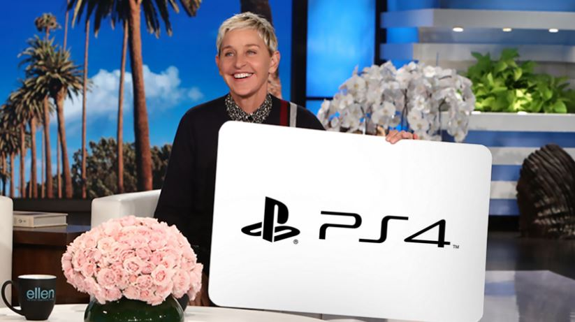 Ellen DeGeneres Giveaway Win A Playstation - Ellen degeneres show car giveaway