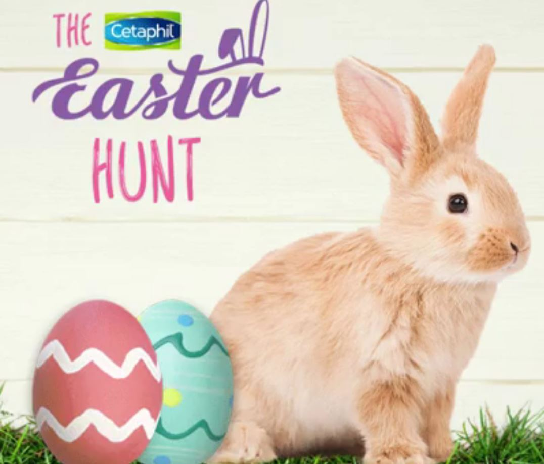 Cetaphil easter egg hunt 2018 win amazon gift cards and cetaphil cetaphil easter egg hunt 2018 win amazon gift cards and cetaphil prize packs negle Image collections