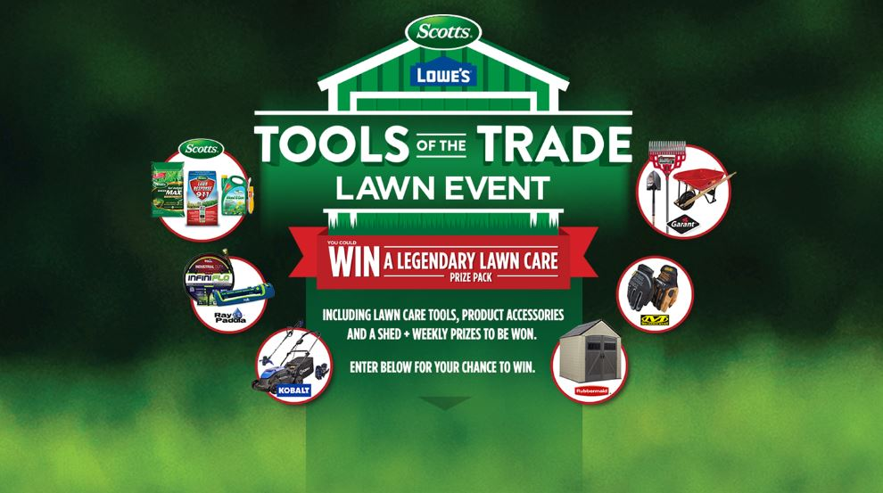 Tools of the Trade Lawn Event Contest: Win a Lawn Care Prize