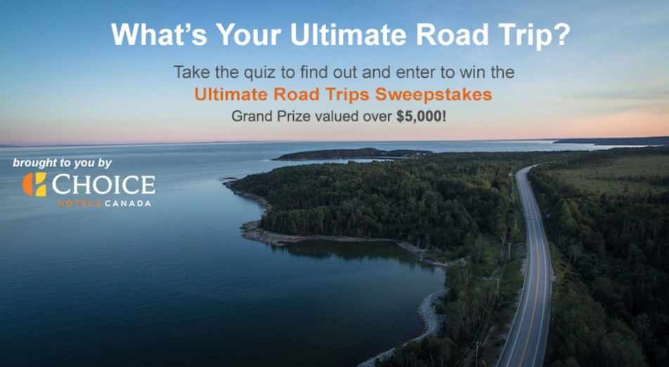 Sweepstakes and contests canada