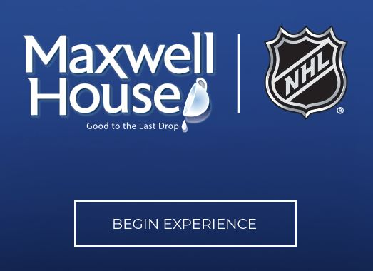 Maxwell House 2019 NHL All-Star Weekend Contest: Win an NHL All Star