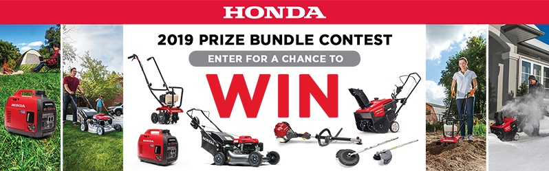 Honda 2019 Contest: Win a prize bundle valued at $3,704