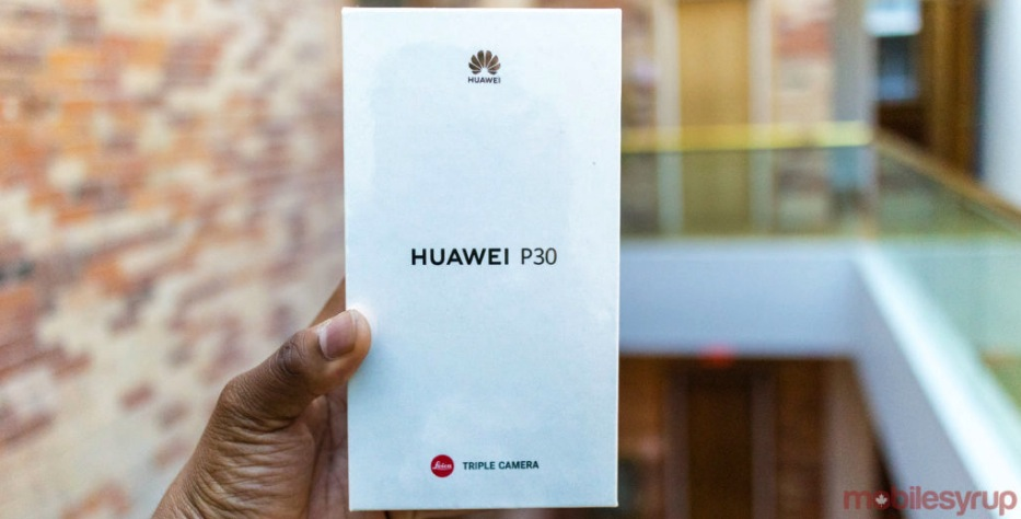 Mobilesyrup Contest: Win a Bell Huawei P30 smartphone