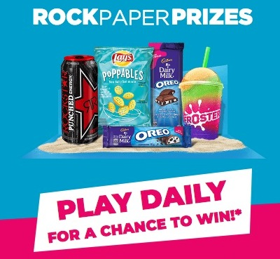 Circle K and Mac's Rock Paper Prizes Contest at