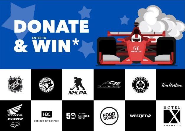 Honda and Make-A-Wish Canada Donate & Win Contest: Win