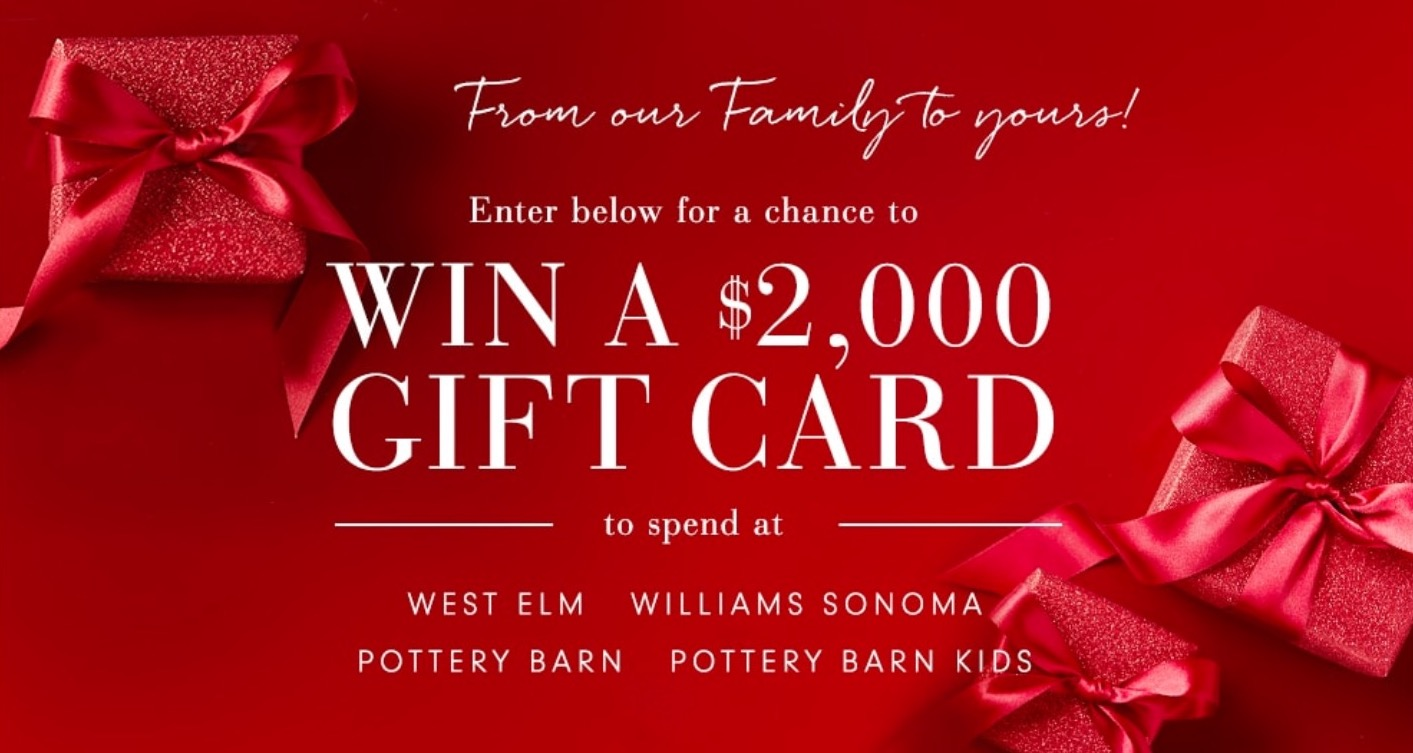 Williams-Sonoma Holiday Contest: Win a